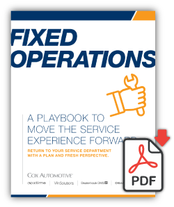 Fixed Operations Playbook